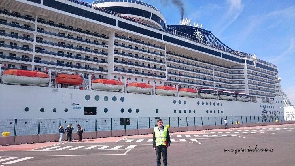 Crucero en Valencia
