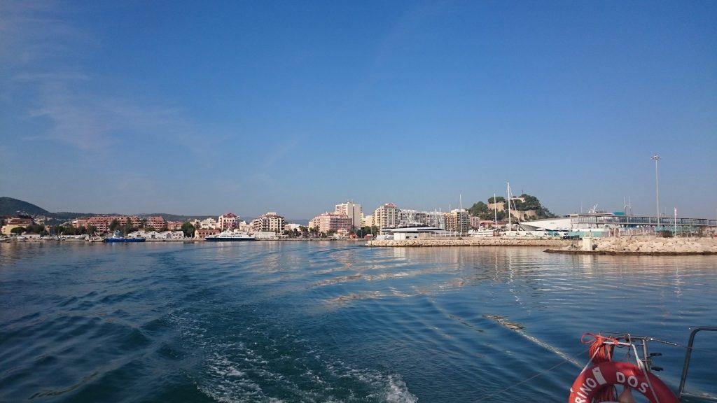 Paseo en barca Denia