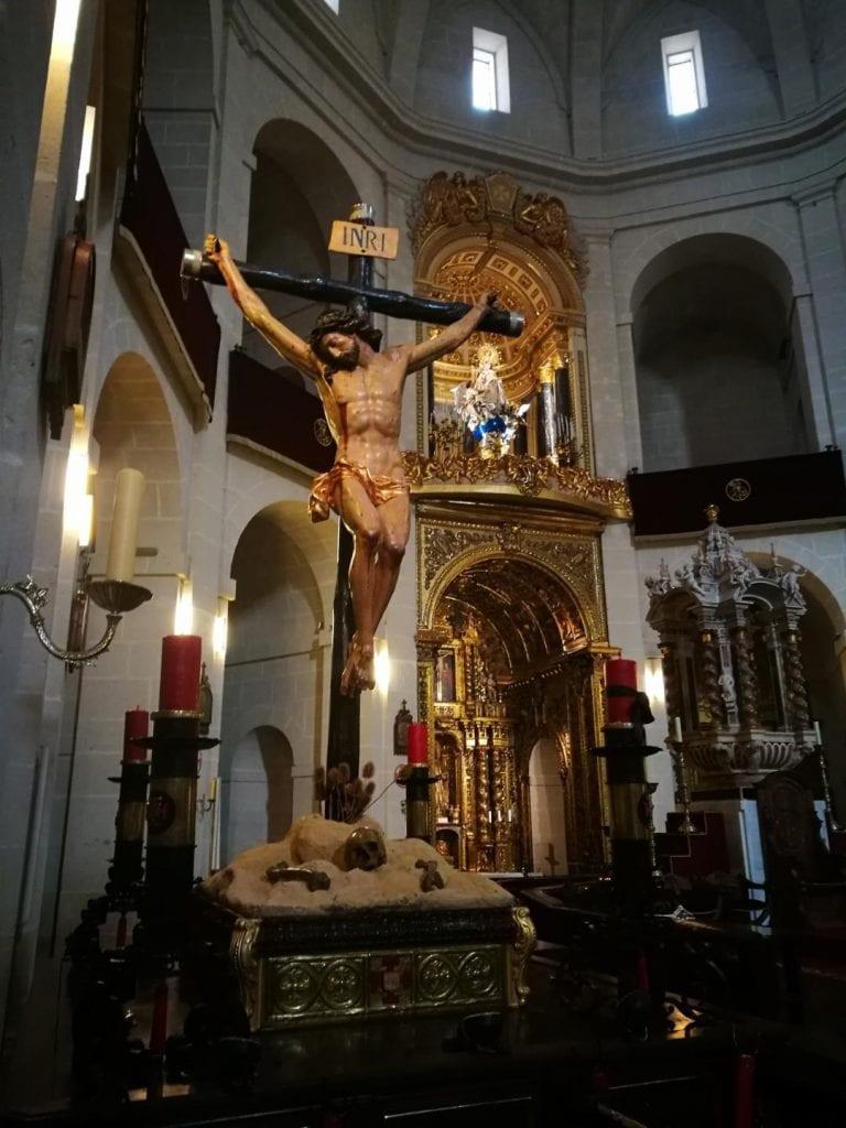 Concatedral de San Nicolás (interior)