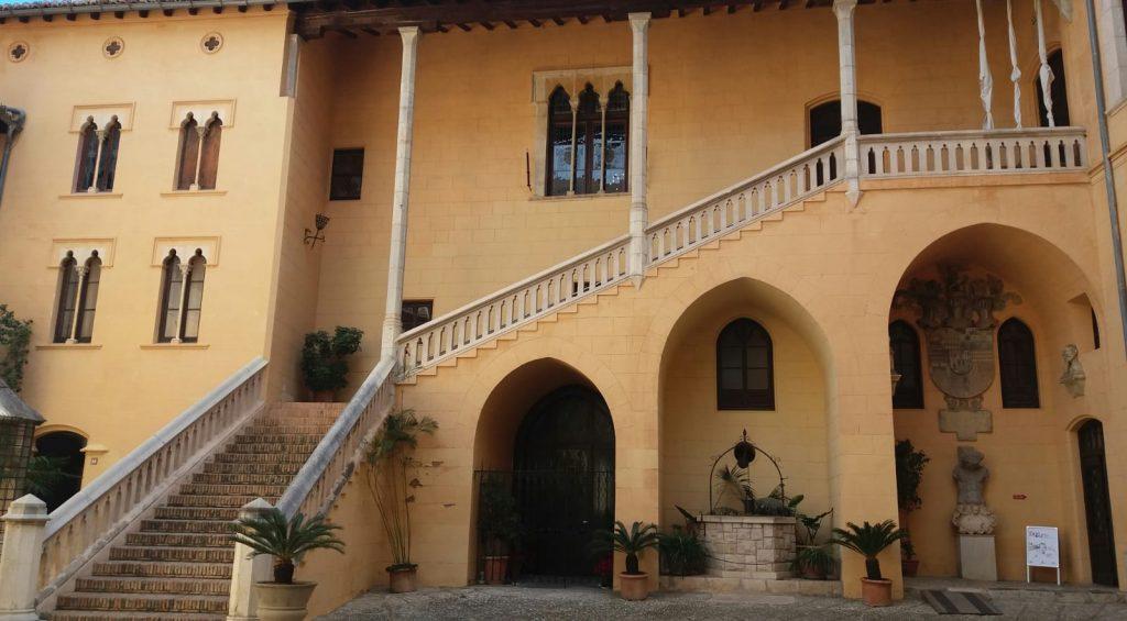 Patio Palacio Ducal Gandía