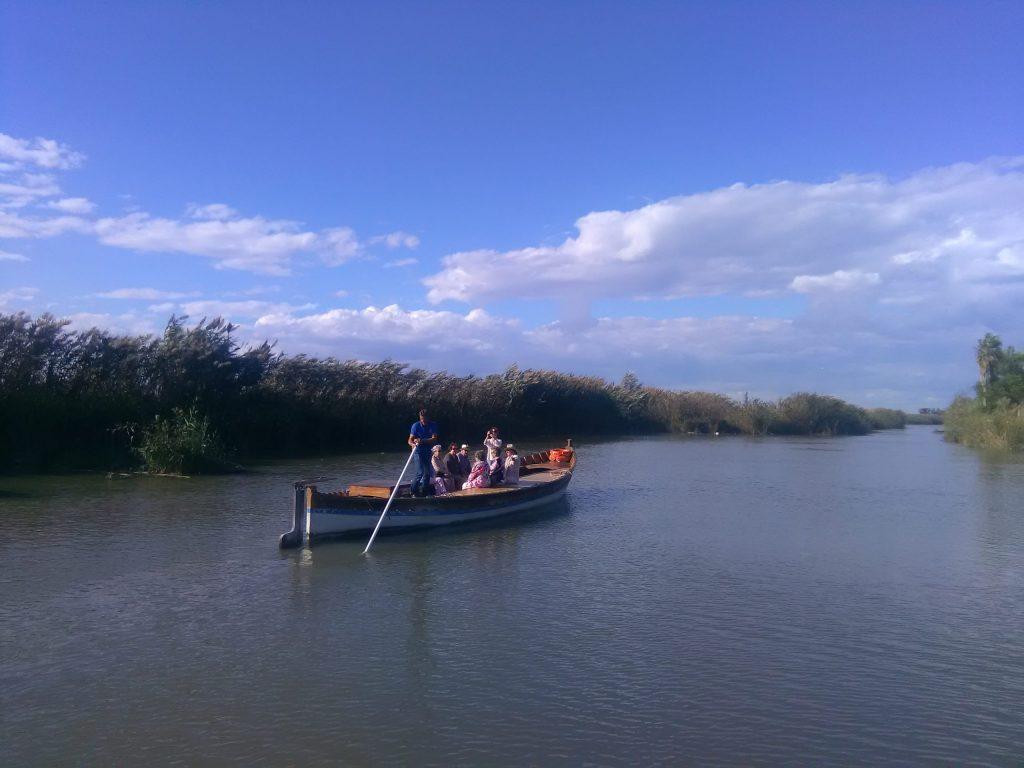 Paseo en barca Albufera Valencia