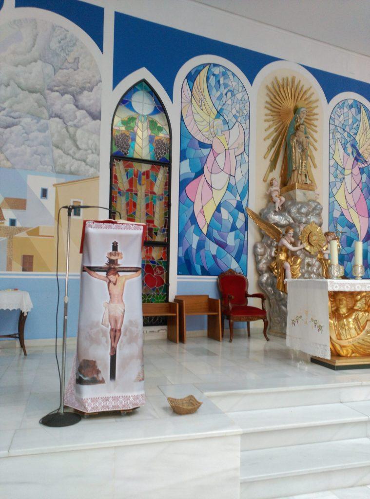 Detalle iglesia de Calpe