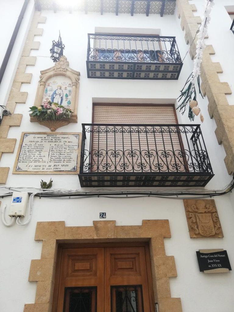 Casa Juan Vives Benissa