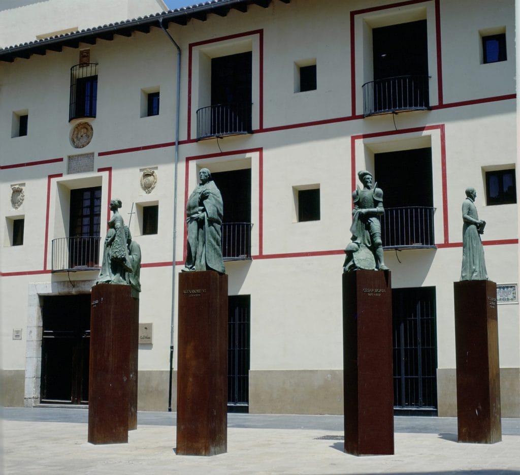 Familia Borja en Gandía