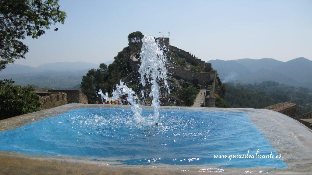 Visita castillo de Xátiva