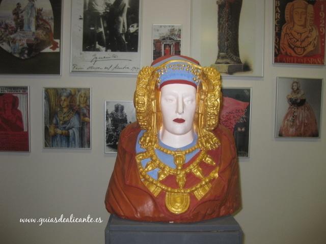 Dama de Elche en Alcudia