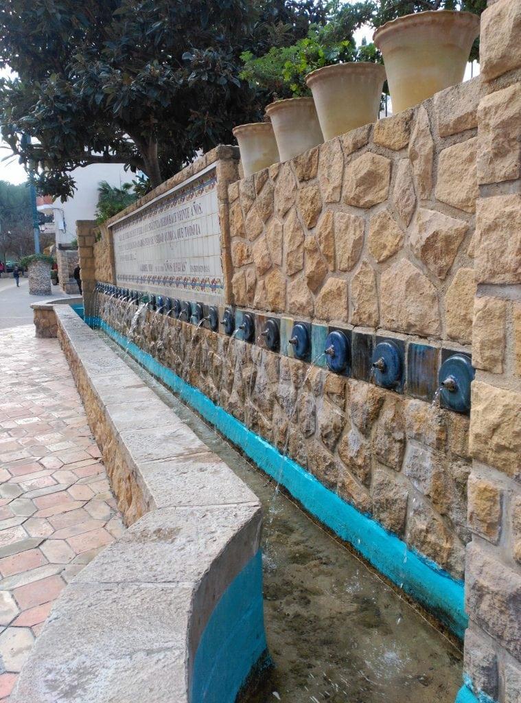plaza chorros polop