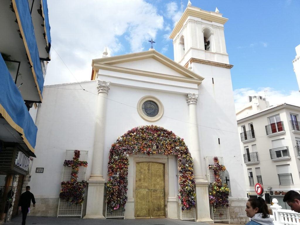 Iglesia de San Jaime y Sta Ana Benidorm