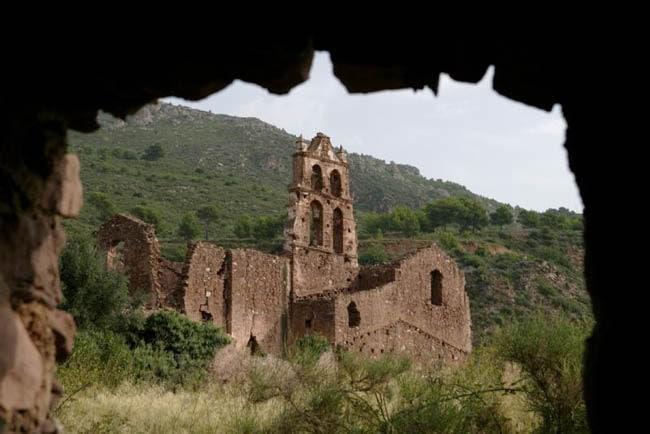 Convento antiguo en Desierto de las Palmas