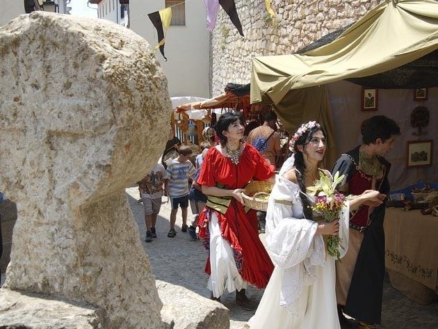 Feria medieval Morella